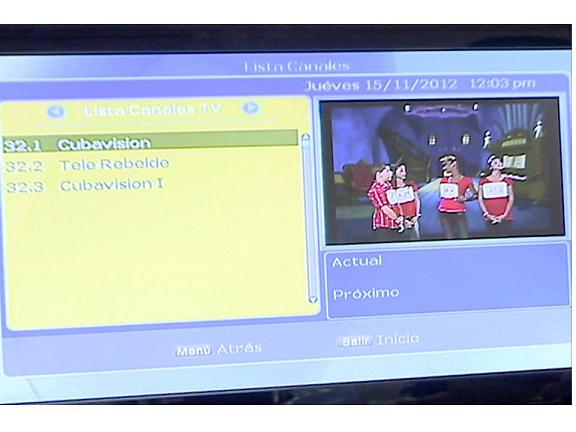 SE INICIAN TRANSMISIONES  DE TV DIGITAL EN SANTA CLARA